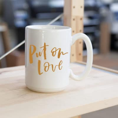 Put on Love Mug