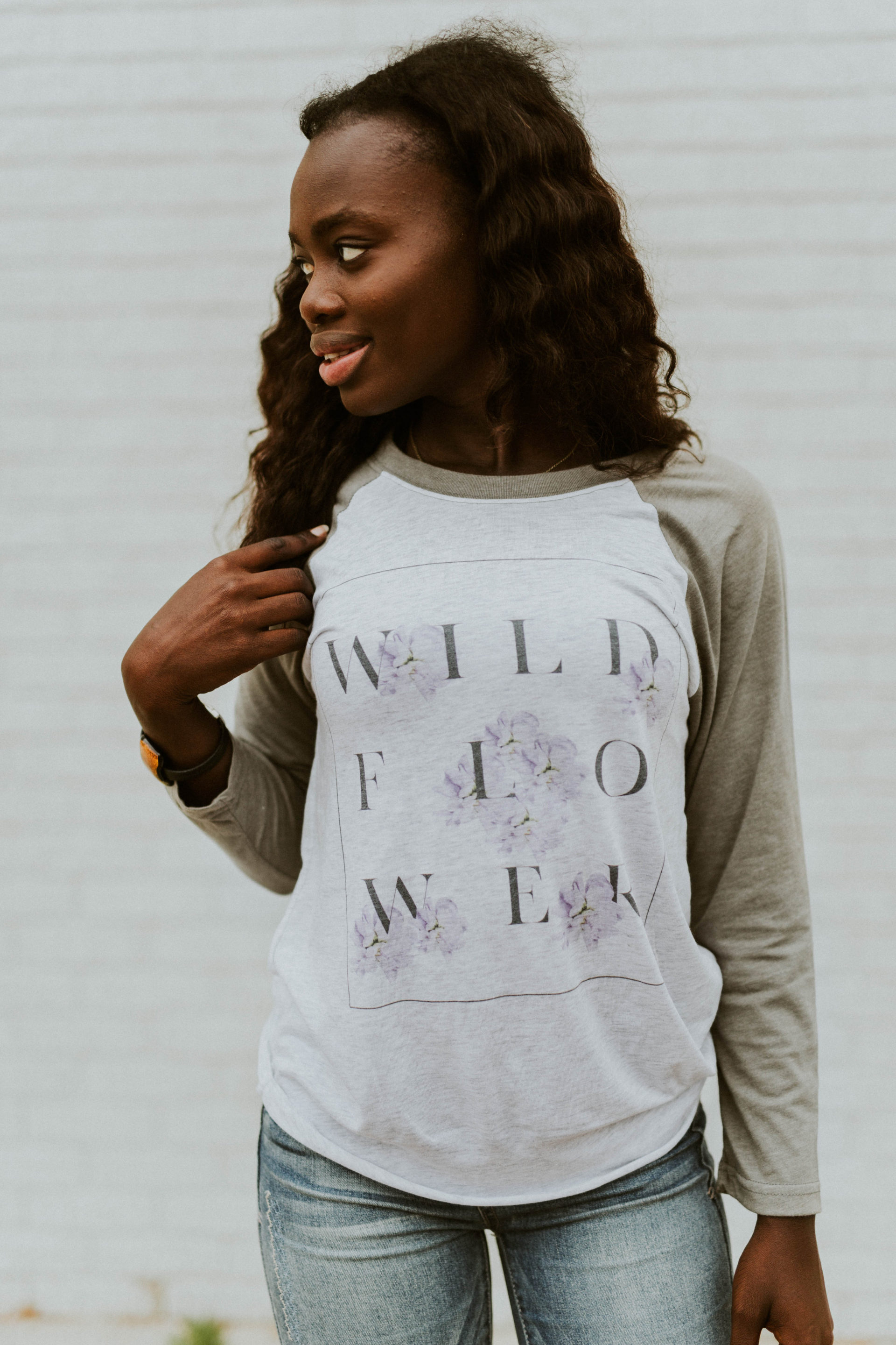 Wildflower Baseball Tee