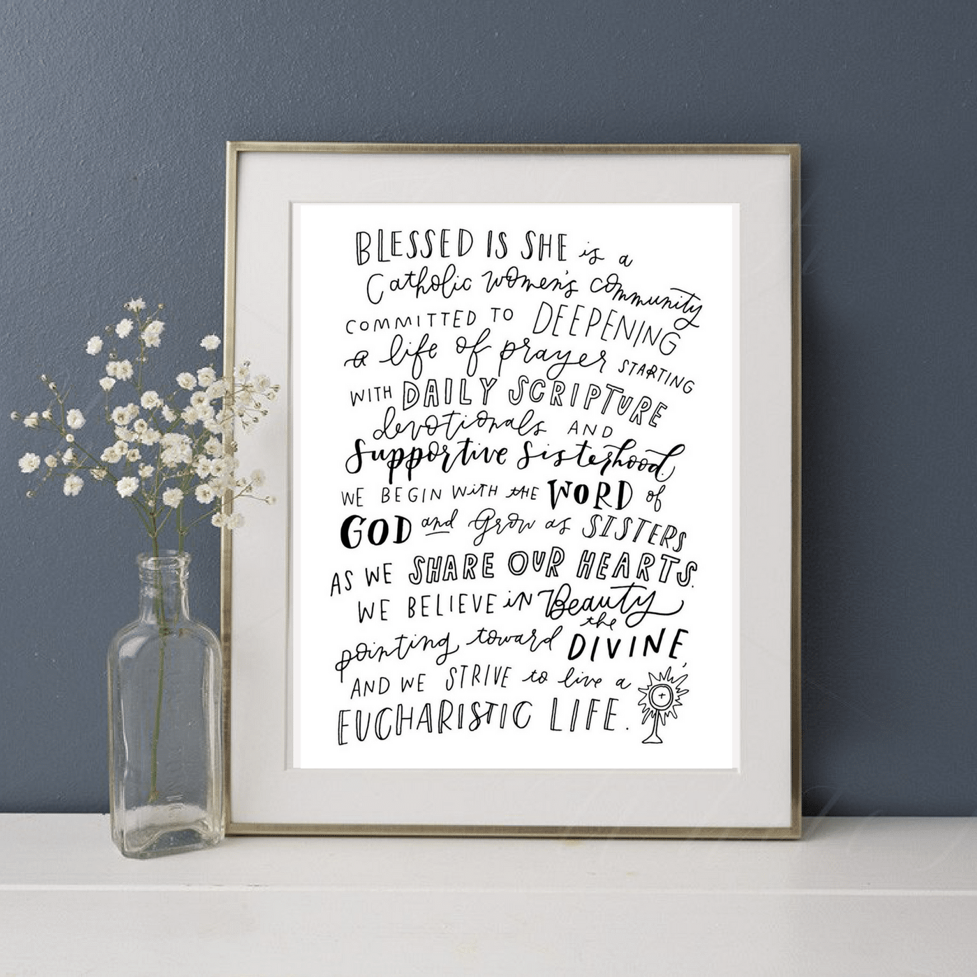 Blessed is She Mission Print // Digital Download