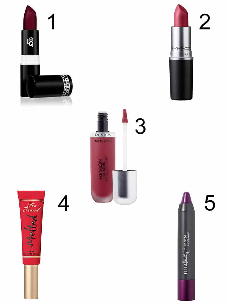 Berry lipstick shades 2017