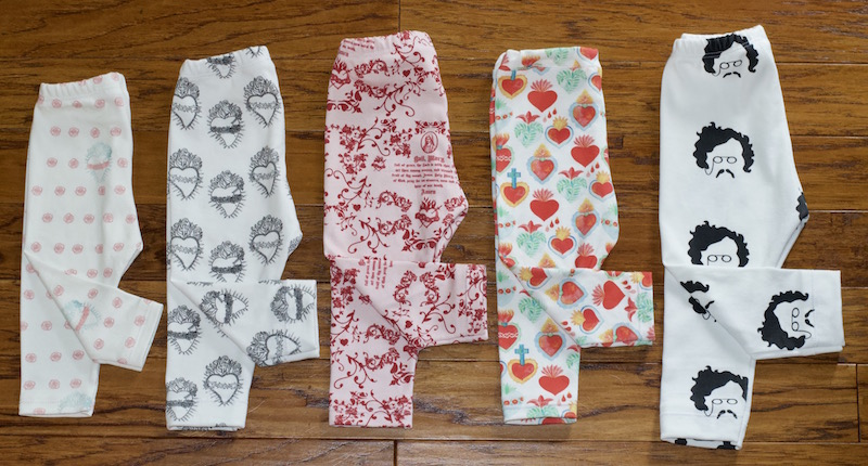 handmade leggings for babies