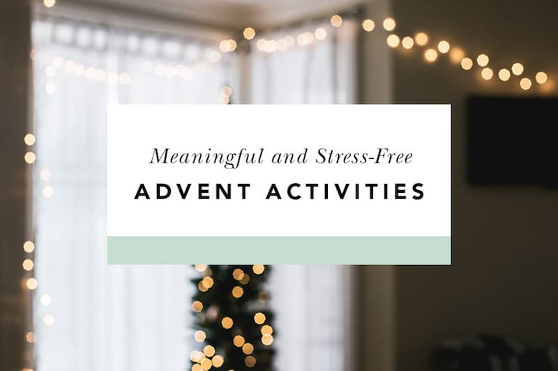 advent activities for families