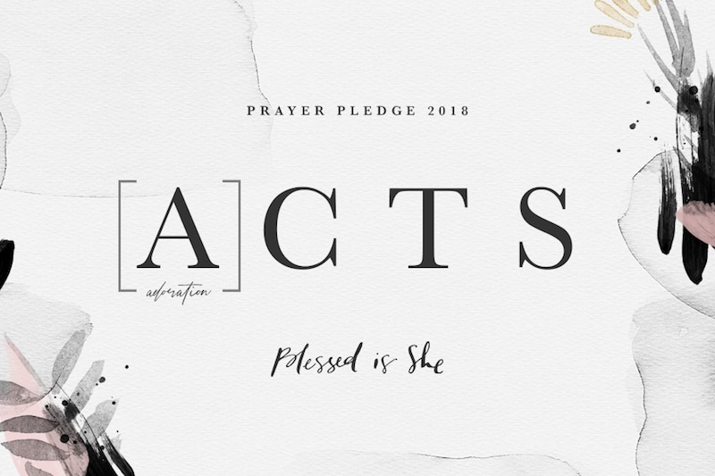bis prayer pledge 2018 adoration