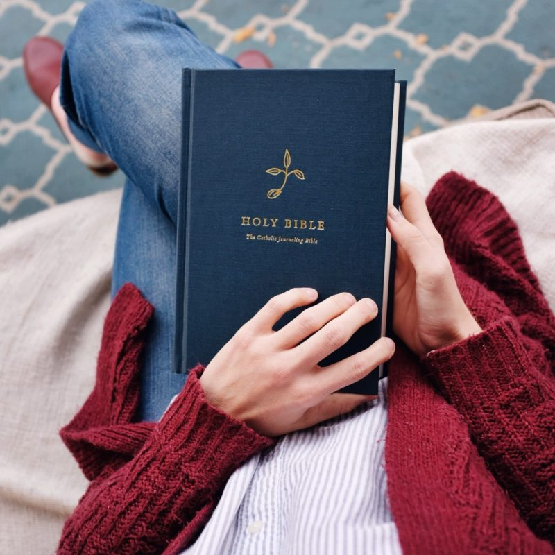 catholic journaling bible