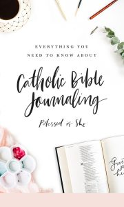 catholic journaling bible how to