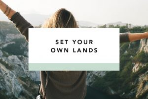 set your own lands