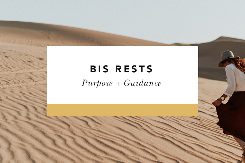 BIS Rests Purpose + Guidance