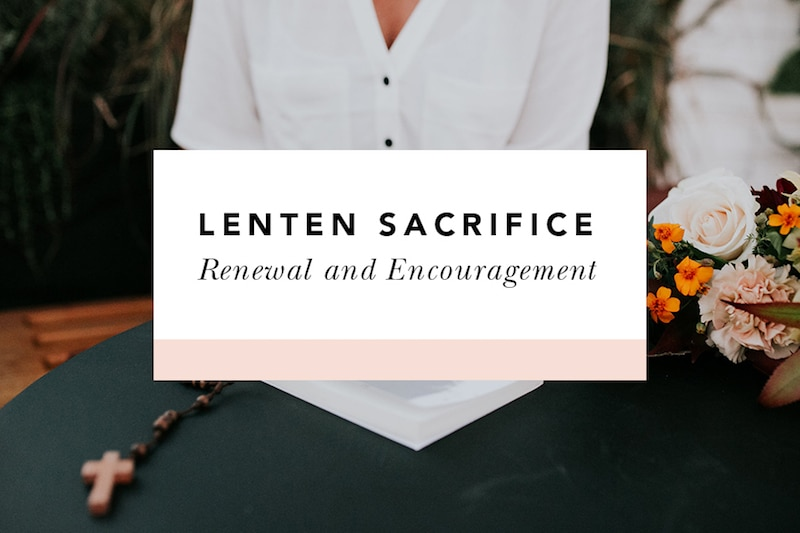 encouragement for lent