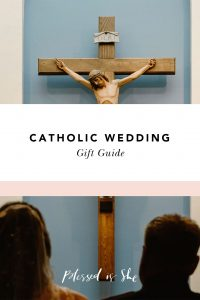 what to buy for a catholic wedding