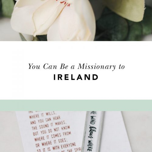 missionary to ireland blessed is she retreat