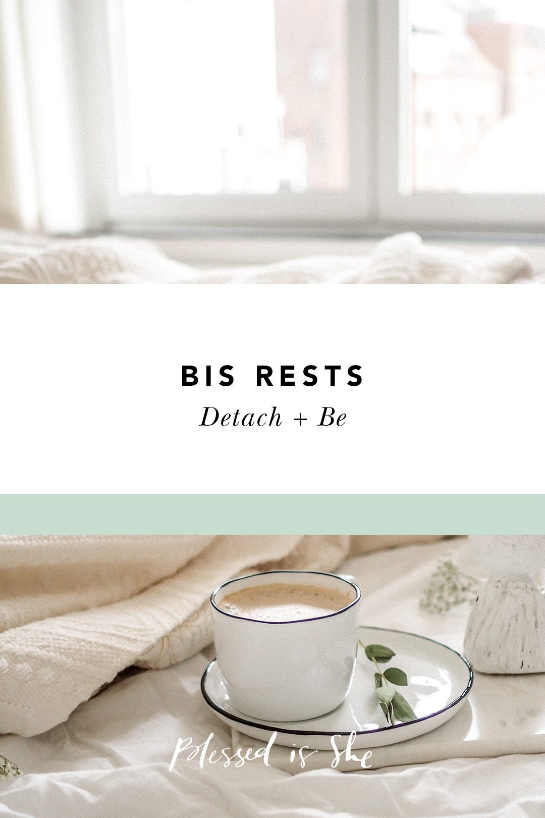 bis rests detach and be