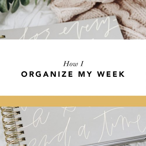 how i organize my blessed is she planner