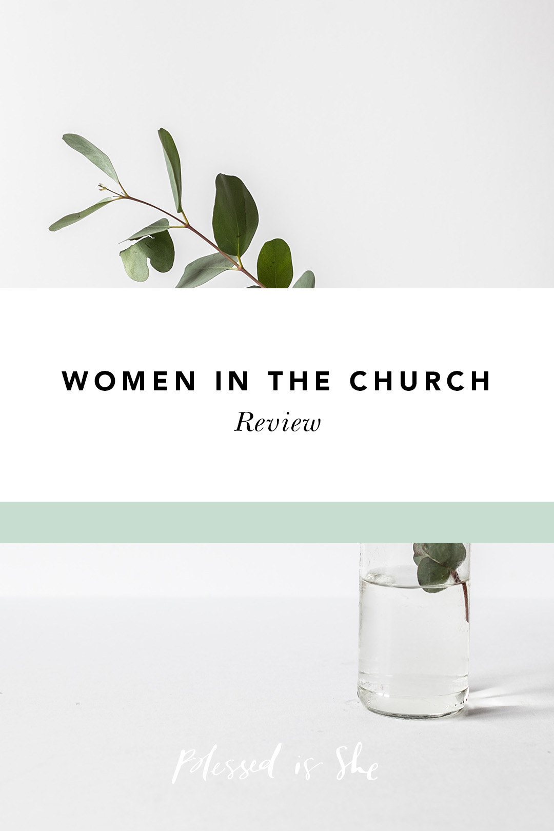 women in the church series