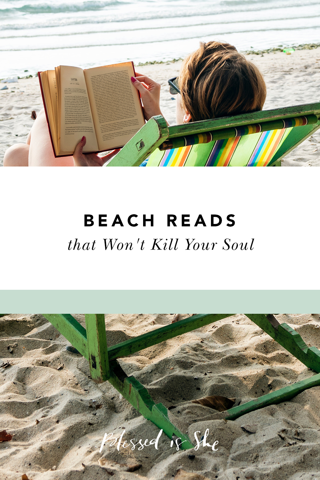 wholesome books for the beach