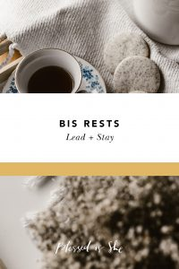 bis rests lead + stay