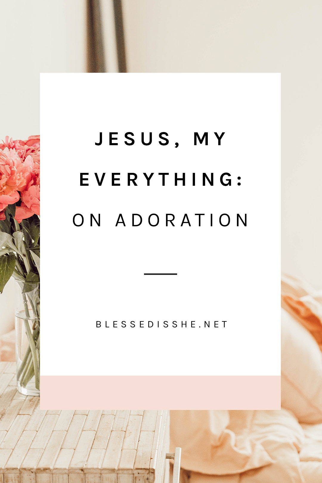 meeting jesus in adoration