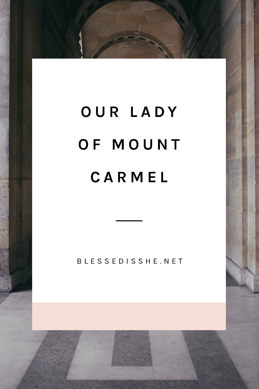 mount carmel pilgrimage sites to visit