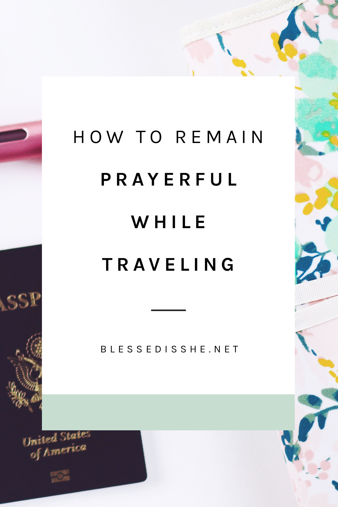 prayer travel