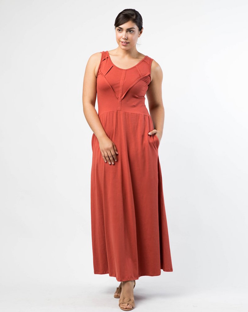 ethically made dress modest