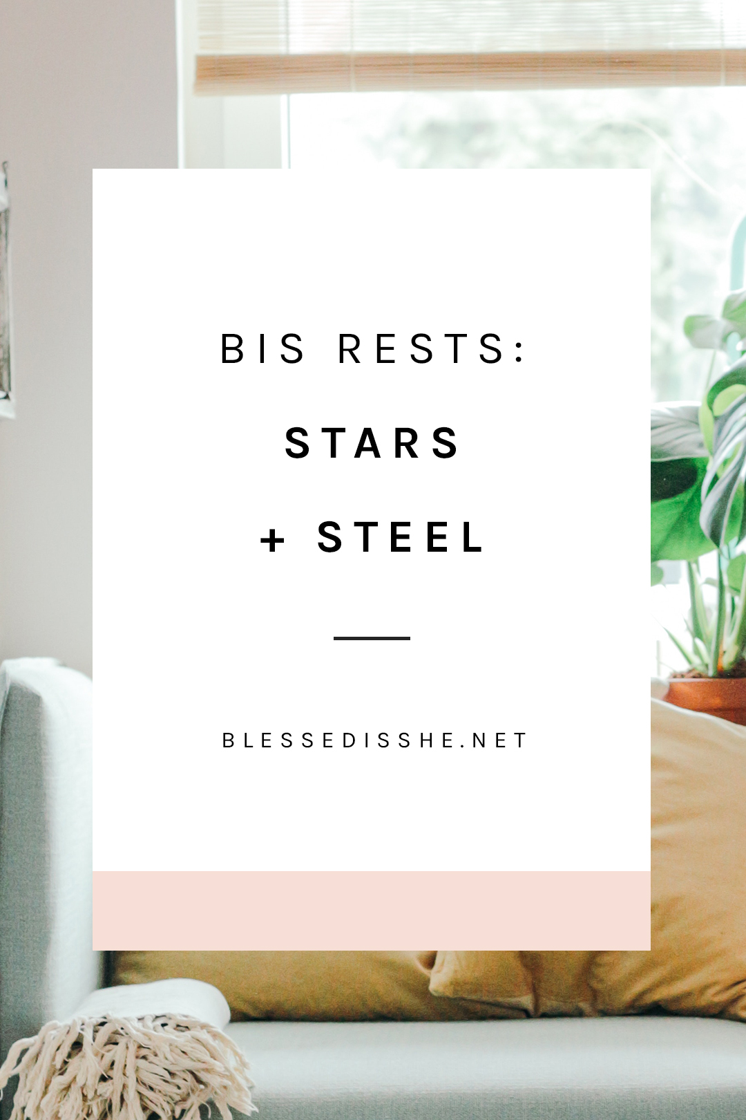 bis rests stars + steel