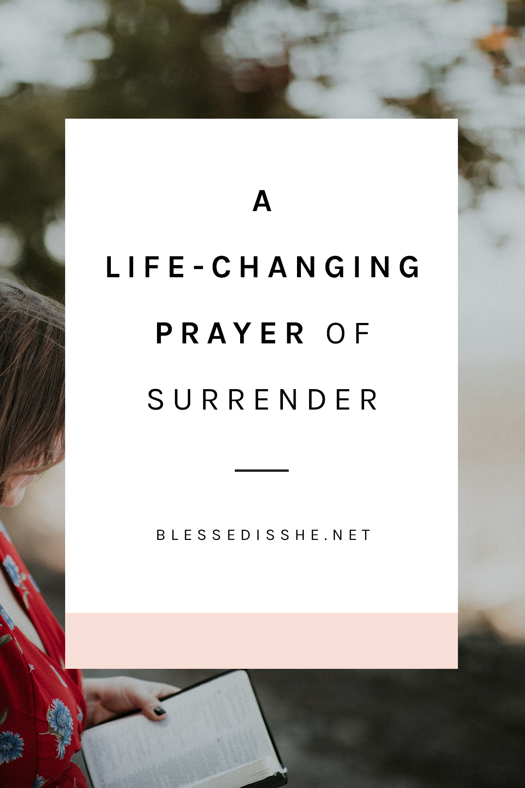 how to surrender to god's will