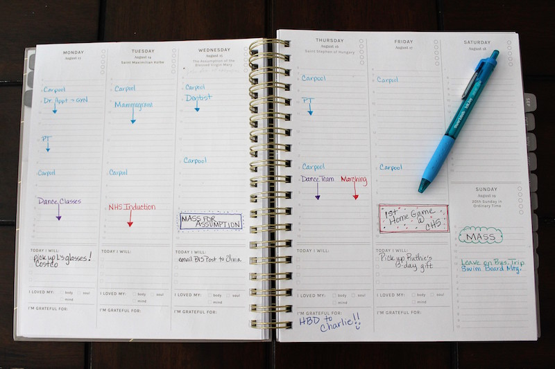 best planner for christian moms