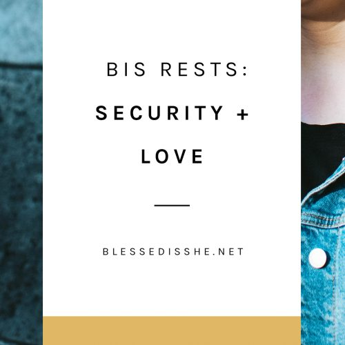 bis rests security + love