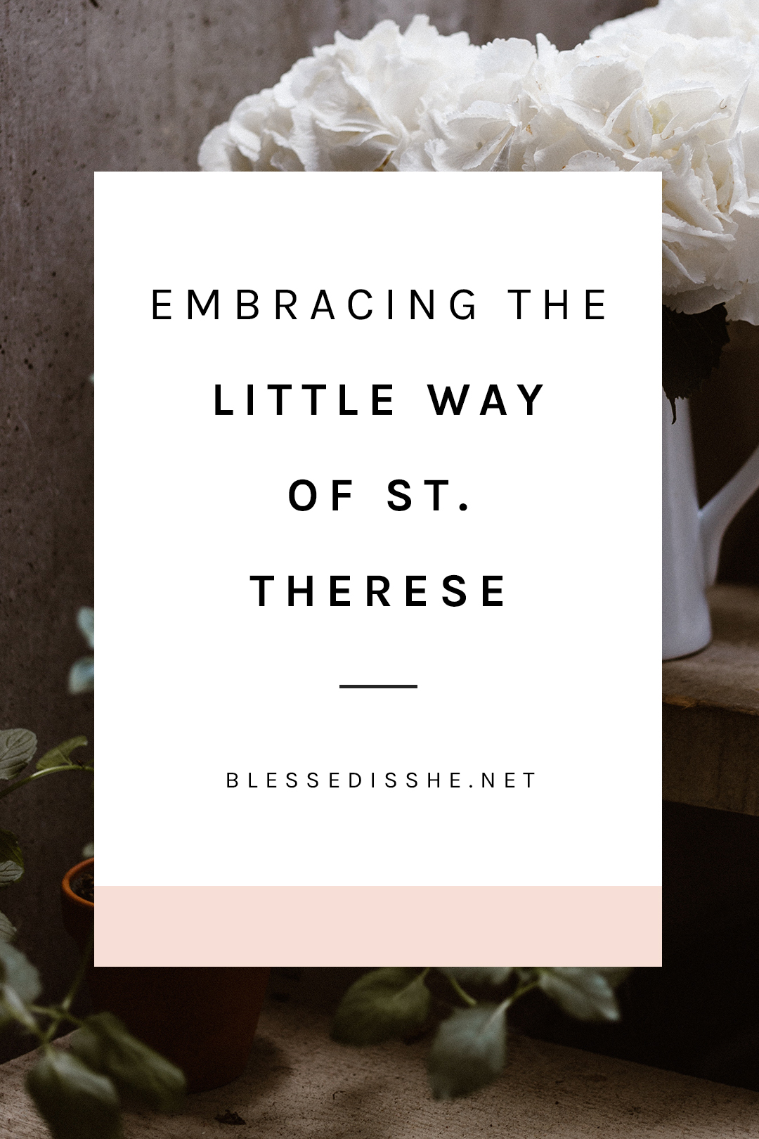 the little way of st. therese