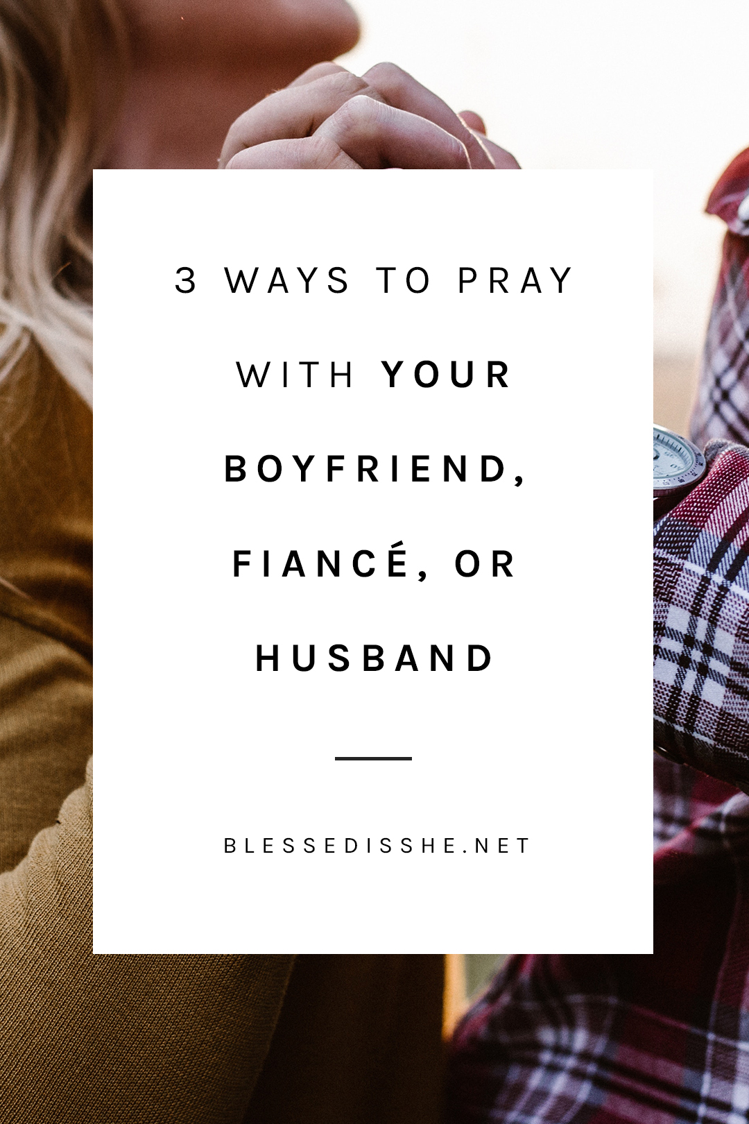 ways to pray with your significant other