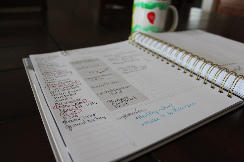 grocery list planner