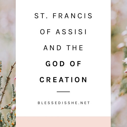 francis of assisi canticle of creation