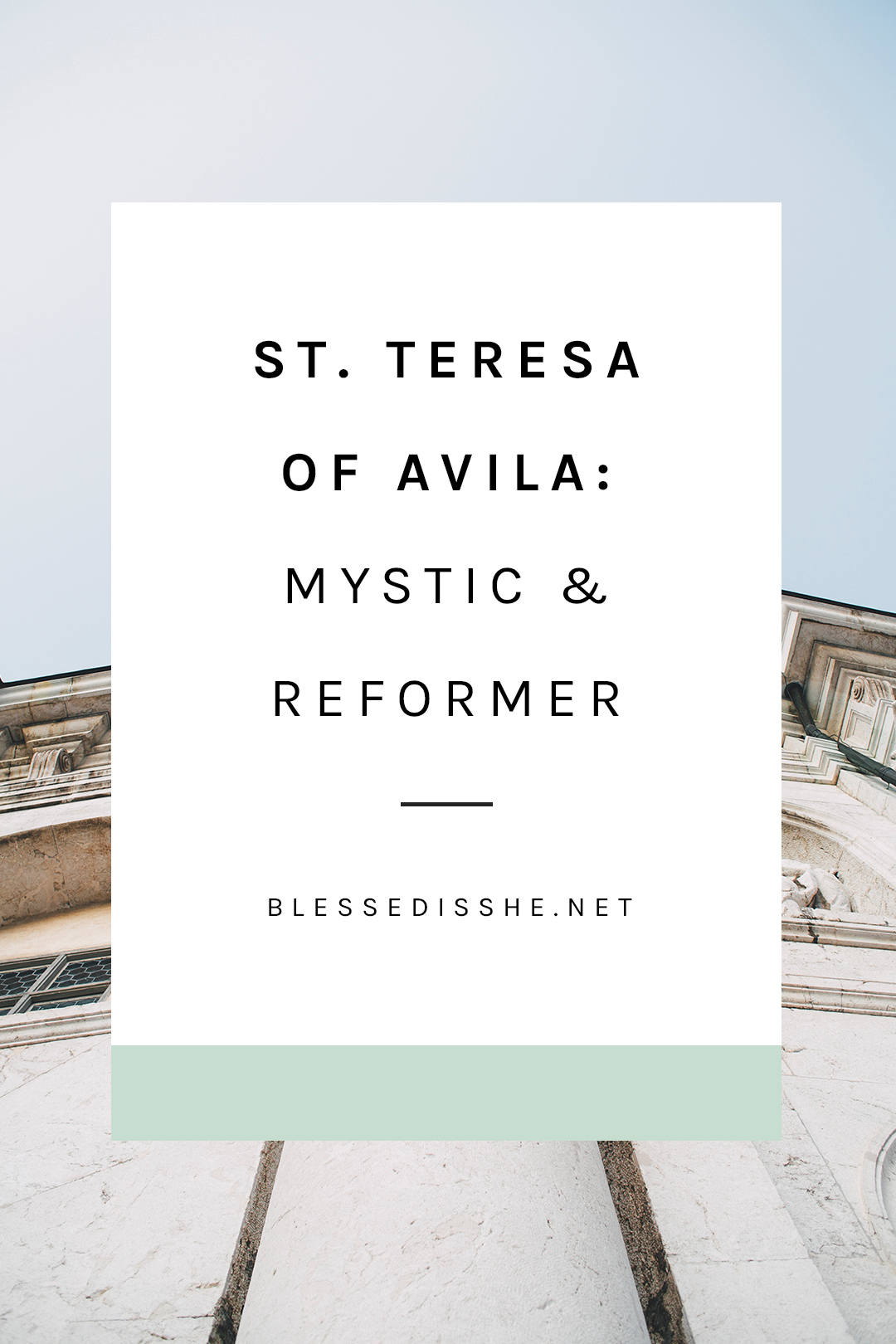 teresa of avila feast day