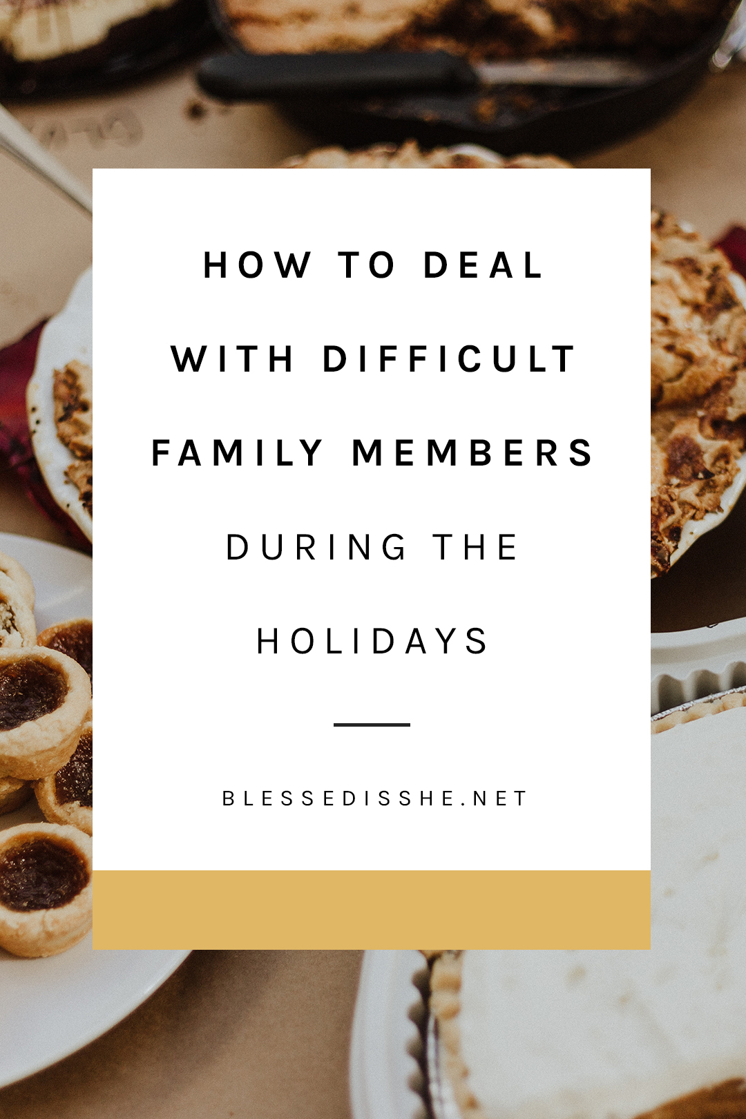 how to survive the holidays with family