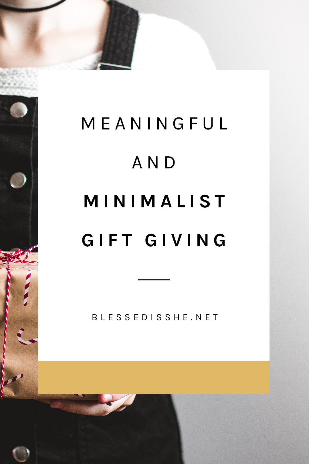 catholic minimalist gift giving