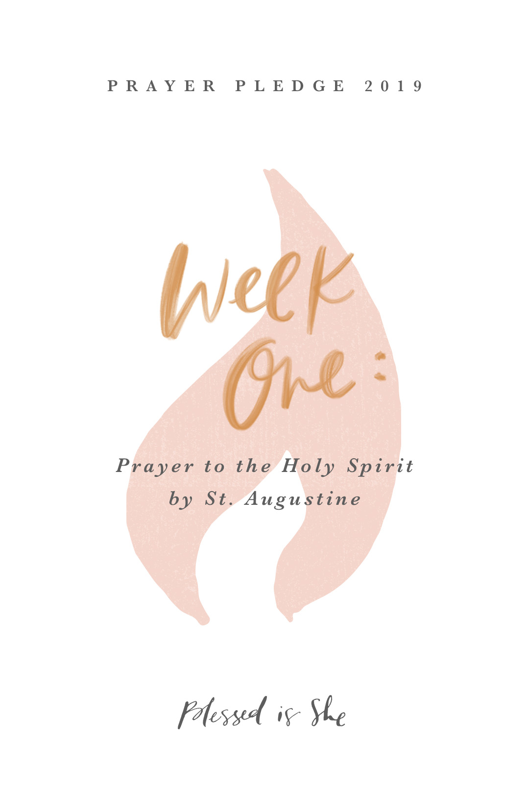 New Year, New Pentecost: 2019 Prayer Pledge // Week One, Day Two