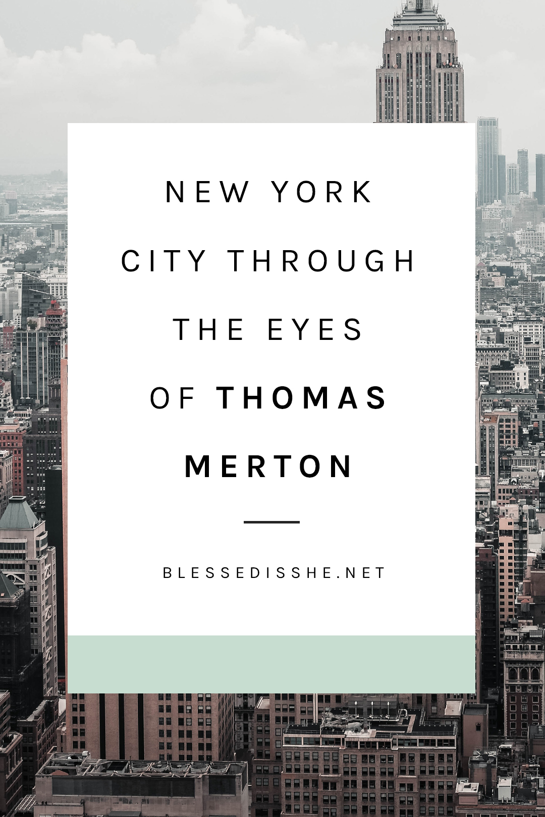 thomas merton pilgrimage