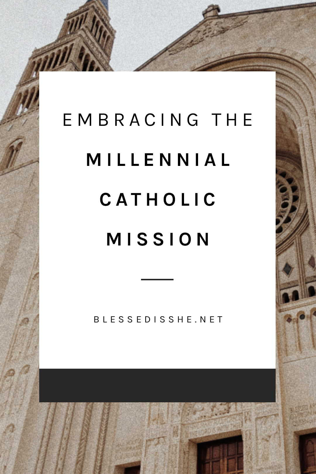 catholic millennials