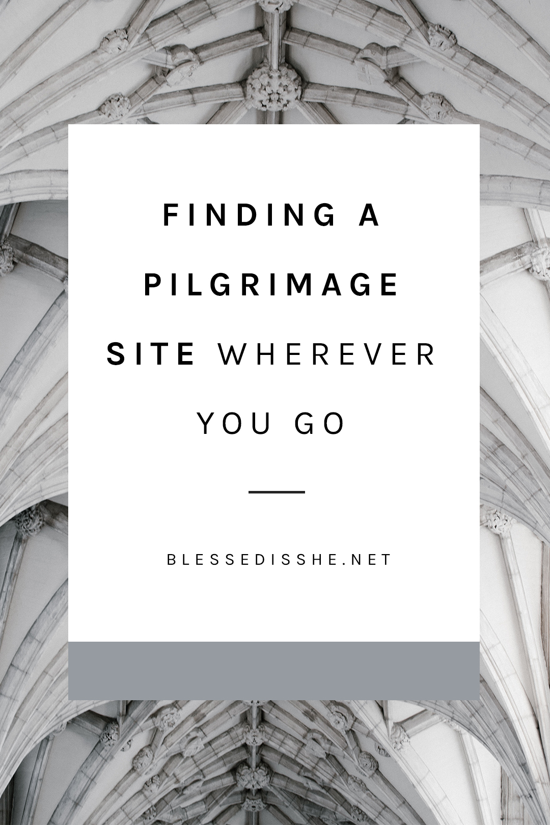 how to take a pilgrimage