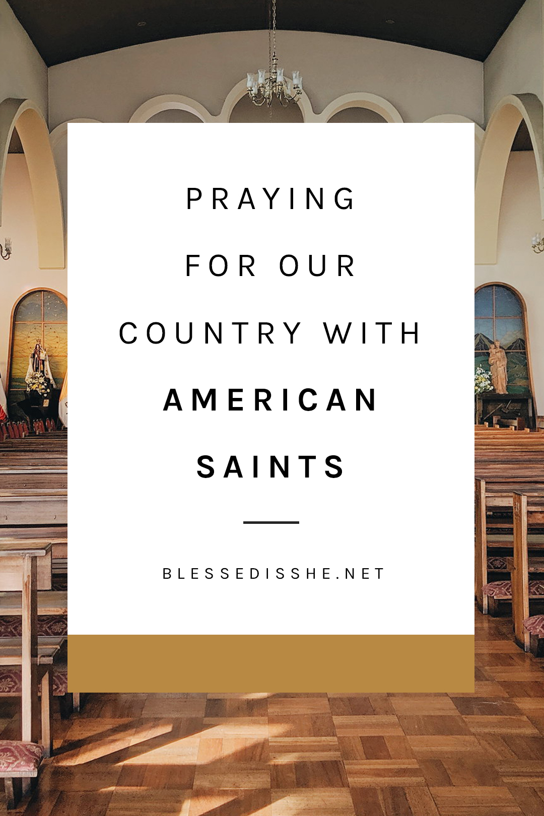 saints from the united states