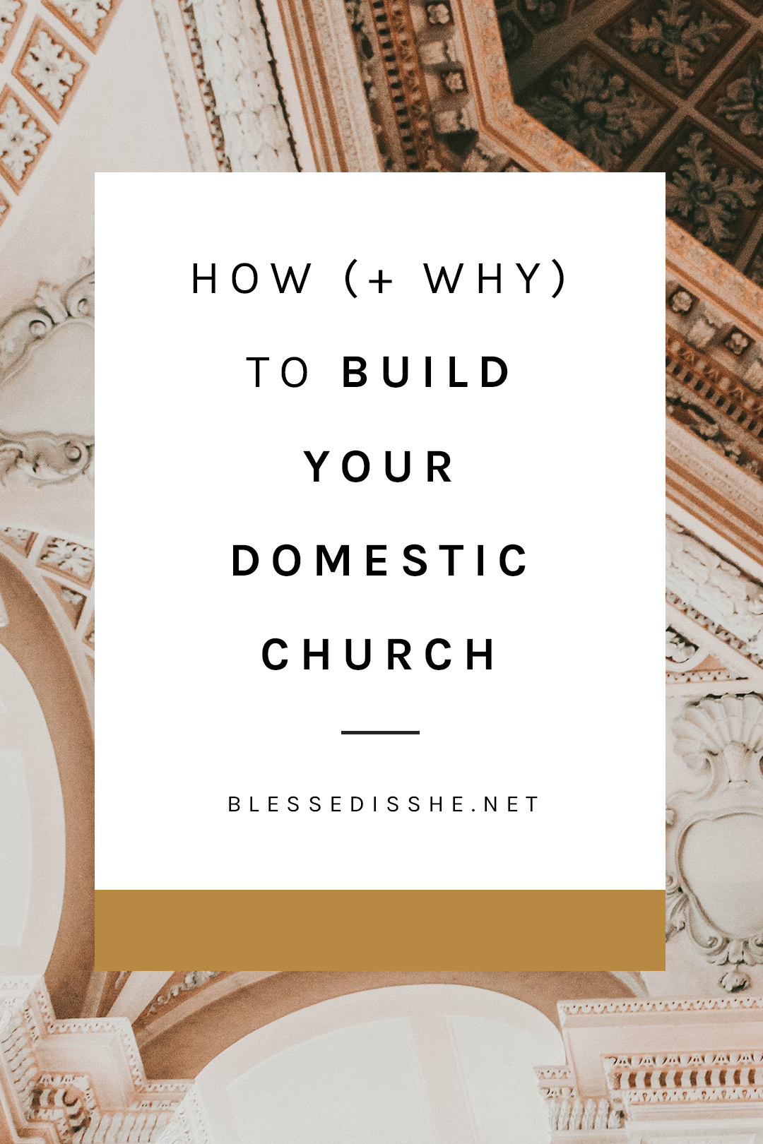what is a domestic church