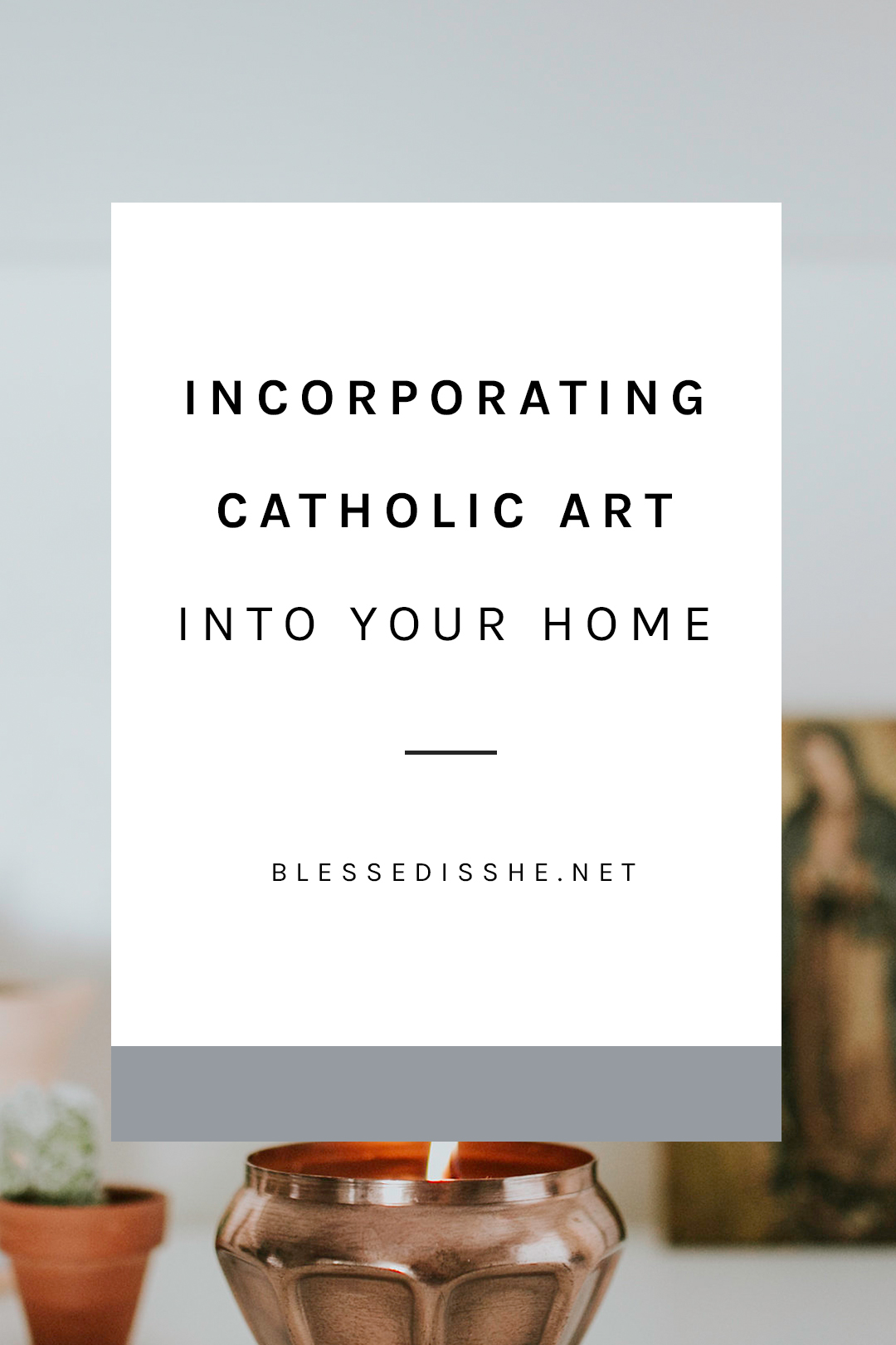 catholic art design and decor