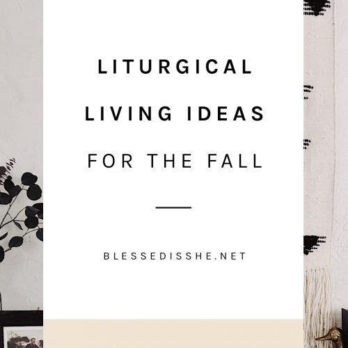 september liturgical living ideas october