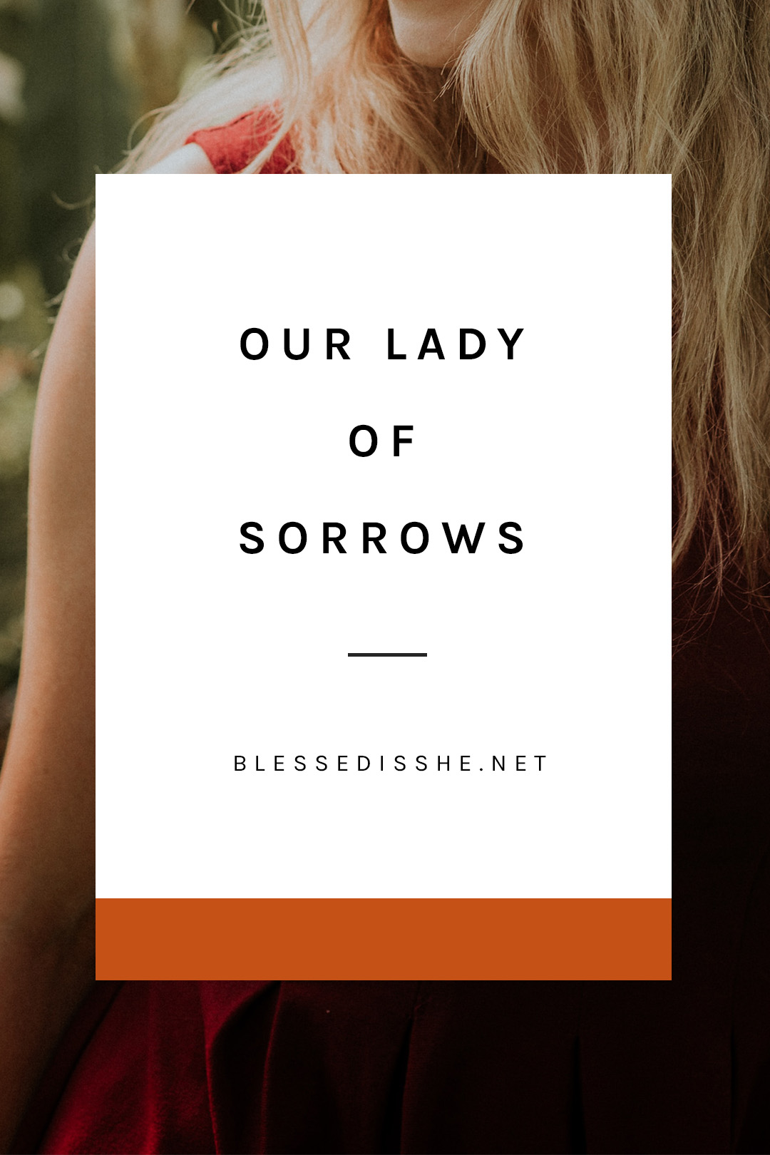 devotion to our lady of sorrows feast day