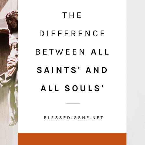 all saints day all souls day explanation