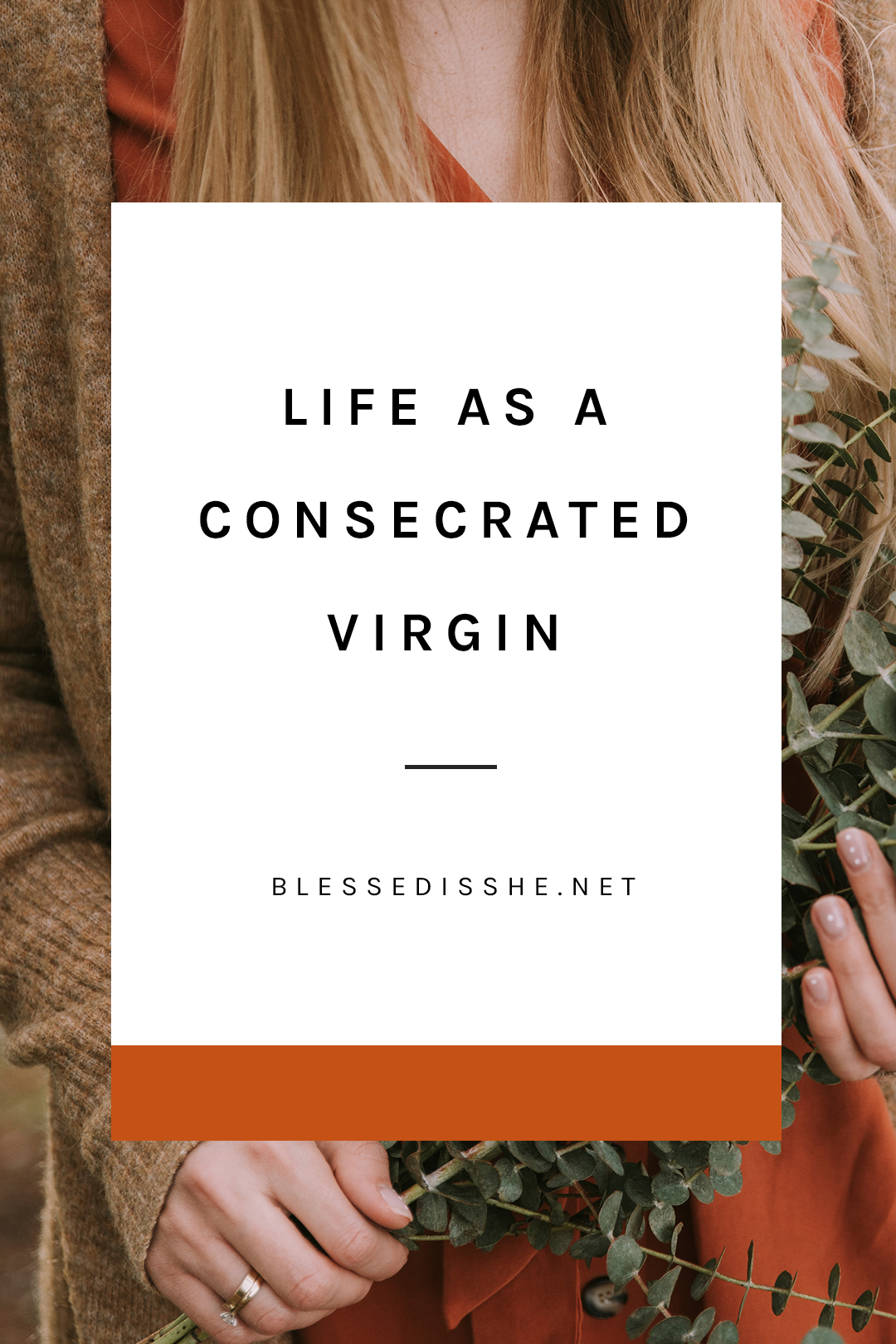 what is a consecrated virgin