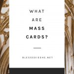 how to have a mass said for someone