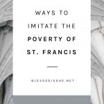 st. francis and lady poverty