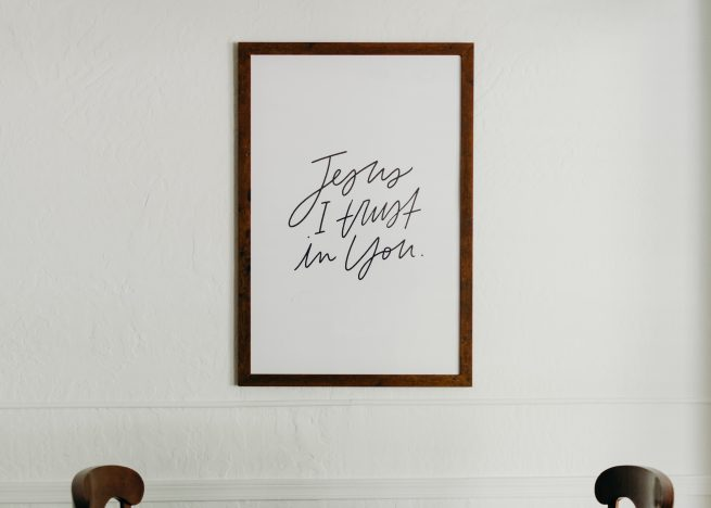 Jesus I Trust In You Poster