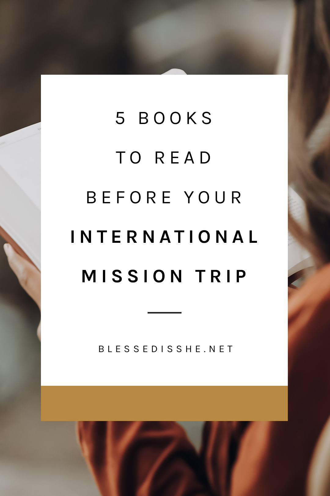 best books for mission trips