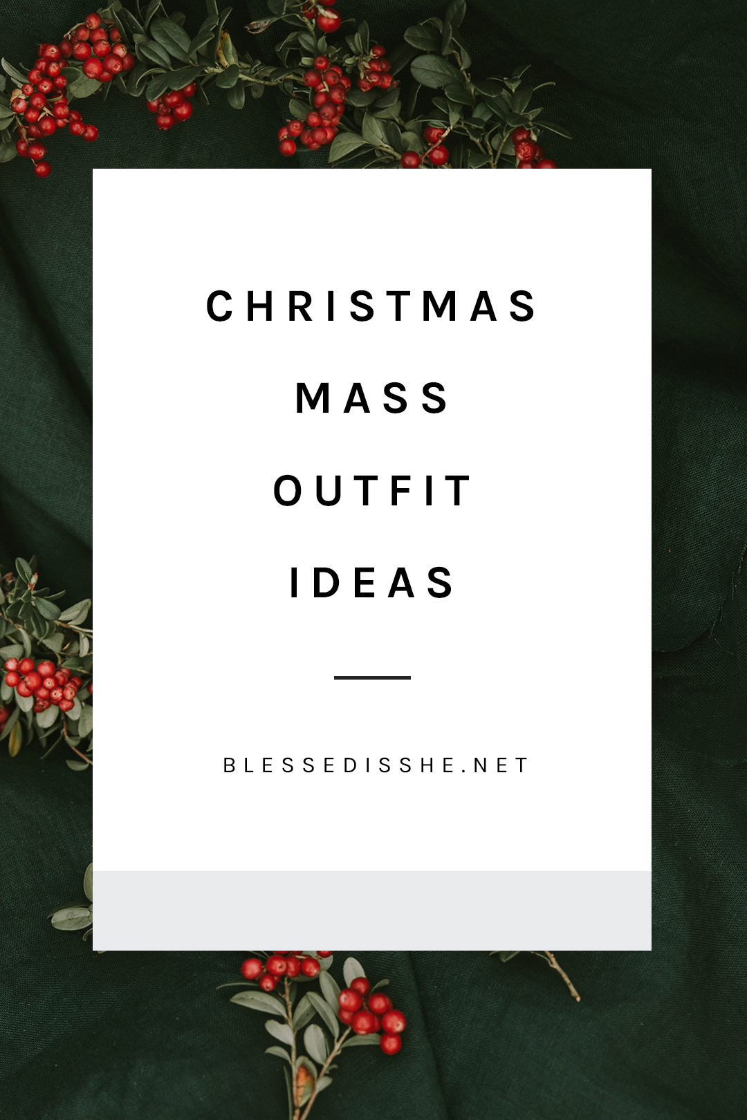 what to wear to christmas mass